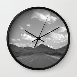 Western Highway Wall Clock
