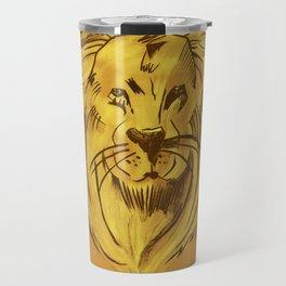 Golden King | Rei dourado Travel Mug