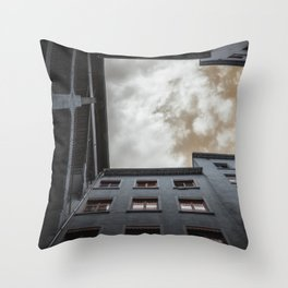 what's up in Lyon?.. Throw Pillow