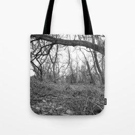 Woods B&W Tote Bag