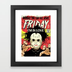 TFTS | Friday Framed Art Print