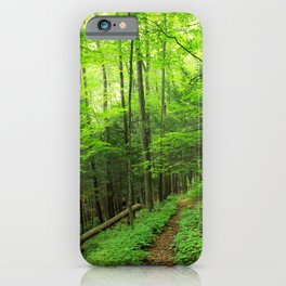 Forest 6 iPhone Case