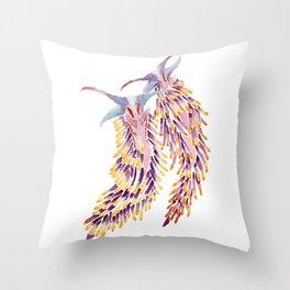 Spanish Shawls Throw Pillow