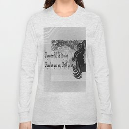 if you lose your way Long Sleeve T-shirt