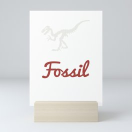 Just One More Fossil I Promise - Fossil Hunting Mini Art Print
