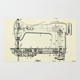 Sewing Machine-1944 Rug