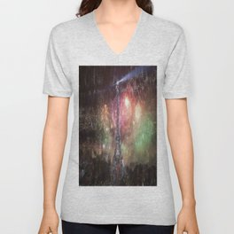 faraway places 3 Unisex V-Neck