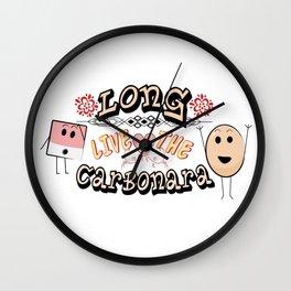 Long live the Carbonara Wall Clock