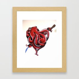 Mr Octopussy Framed Art Print