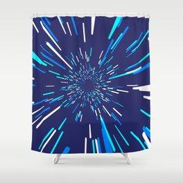 Space Trip 3 Shower Curtain