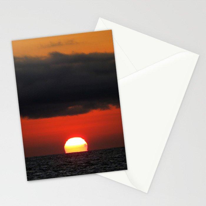 Malibu Sunset Stationery Cards