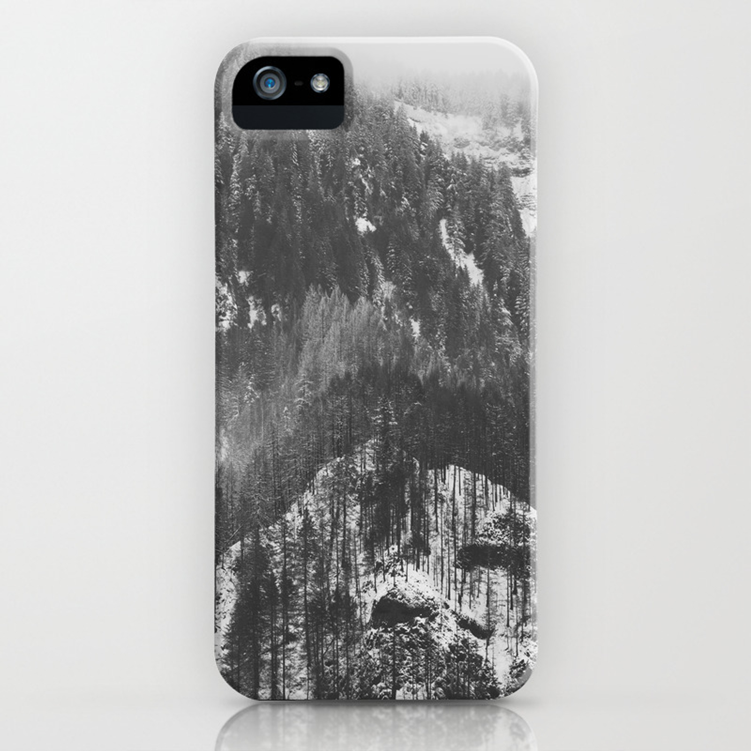 Frosty Forest Adventure Awaits Iphone Case