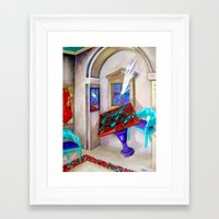 physics Framed Art Prints featuring Physics Reloaded by Rebecca Glaze