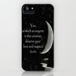 You, as much as anyone... iPhone Case