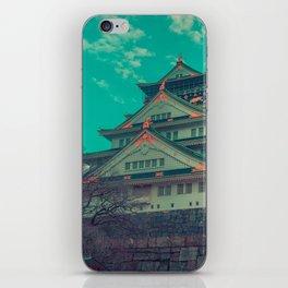 Osaka Castle iPhone Skin