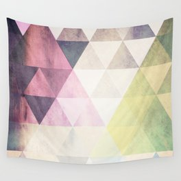 Geometric Groove Wall Tapestry