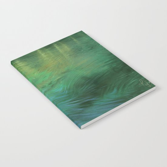 Waterscape digital painting Notebook