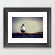 Lighthouse 2 Framed Art Print