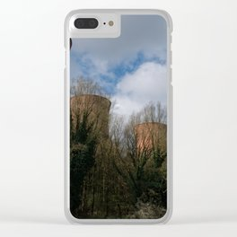 Cooling Towers Of Ironbridge Clear iPhone Case