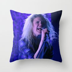Alison Mosshart // The Kills Throw Pillow
