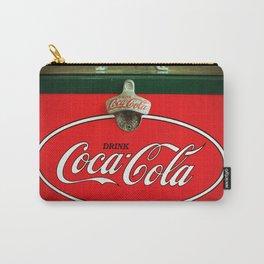 Vintage Coca-Cola Fridge Carry-All Pouch