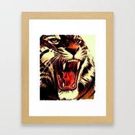 King Of Bengal Framed Art Print