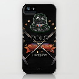 polo black label iPhone Case