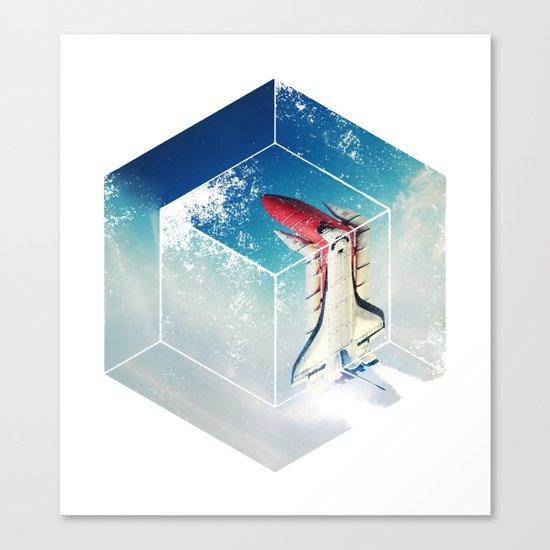 Into the Fourth Dimension Canvas Print