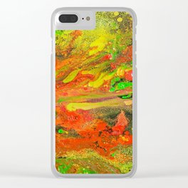 Psychedelia Clear iPhone Case