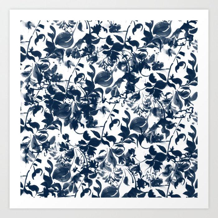Abstract pattern 2 Art Print