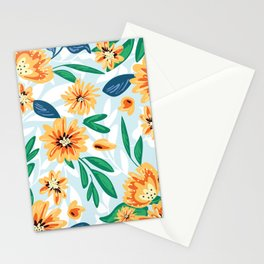 Summer Bouquet Watercolor Stationery Cards
