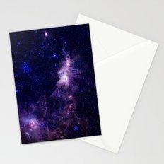 gAlAXY Purple Blue Stationery Cards