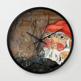 Birth of a cat Wall Clock