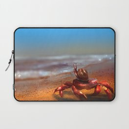 Waiting by the shore Laptop Sleeve