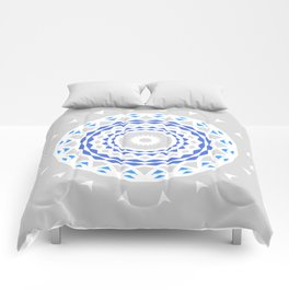Radial Geometry Comforters