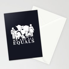 Earthlings Inverse colors Stationery Cards