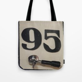 95 Coffee Tote Bag
