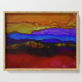 Canyon Sunset Serving Tray
