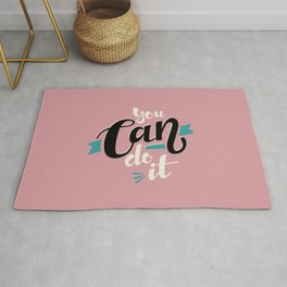 Yes, you can! Rug