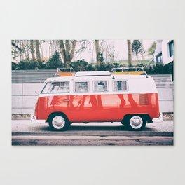 Combi car 4 Canvas Print