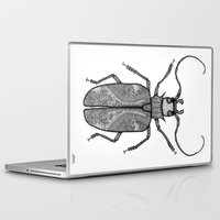 titan Laptop & iPad Skins featuring Titan Beetle by Viper in the Violets