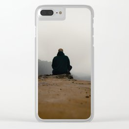 Defying gravity Clear iPhone Case