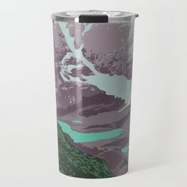 Yoho National Park Poster Travel Mug