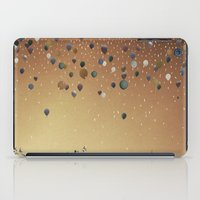 fitzgerald iPad Cases featuring Innumerable wandering balloons by Emma Fitzgerald