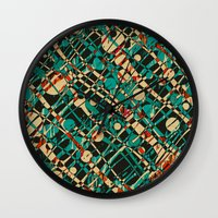 alien Wall Clocks featuring Alien by Glanoramay