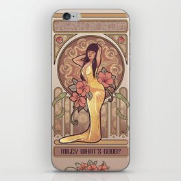 Miley What's Good?  iPhone Skin