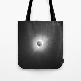 Total Solar Eclipse Illuminated by Sun  Tote Bag