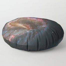 Whirlpool Galaxy and Companion Galaxy Floor Pillow