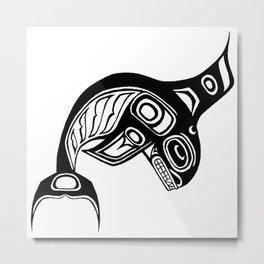 Ink Keét Metal Print