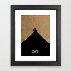 Cat. Framed Art Print